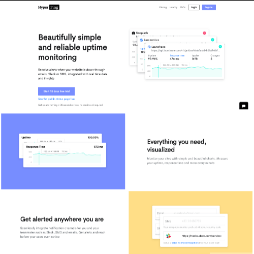 Hyperping - Public Status Pages for your WordPress Monitoring