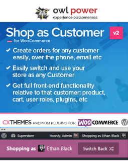 Shop-as-Customer4Woo