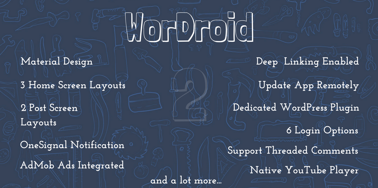WorDroid - Native Android WP Blog App