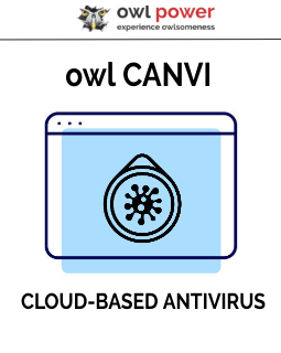 owl CANVI cloud-based ANTIVIRUS